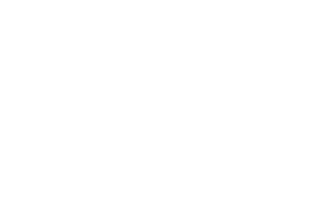 we ARE the packaging experts